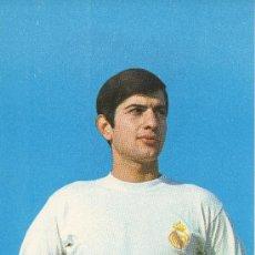 Coleccionismo deportivo: POSTAL DEL JUGADOR DE FUTBOL DEL REAL MADRID M.PEREZ. Lote 7929961