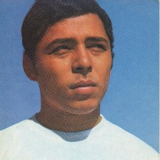 Coleccionismo deportivo: TARJETA POSTAL DEL JUGADOR DE FUTBOL FLEITAS REAL MADRID 1969. Lote 22621618