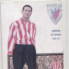 Coleccionismo deportivo: POSTAL JUGADOR DUÑABEITIA, ATLETICO DE BILBAO TEMPORADA 1922-23. Lote 26625132