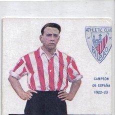 Coleccionismo deportivo: POSTAL JUGADOR LEGARRETA, ATLETICO DE BILBAO TEMPORADA 1922-23. Lote 25862438