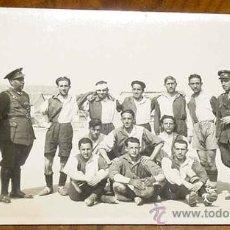 Coleccionismo deportivo: ANTIGUA FOTOGRAFIA DEL EQUIPO DE FUTBOL LEGANES - AÑO 1930 - REALMENTE RARA - MIDE 10,5 X 6,5 CMS.. Lote 14040538
