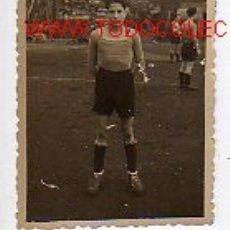 Coleccionismo deportivo: FOTO DE UN JUGADOR DE FUTBOL. Lote 2150273
