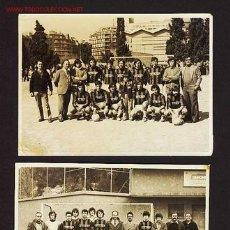 Coleccionismo deportivo: 2 FOTOS DE UN EQUIPO DE FUTBOL NO IDENTIFICADO, CON PUBLICIDAD DE CITIZEN. AÑOS 60/70. Lote 2245562
