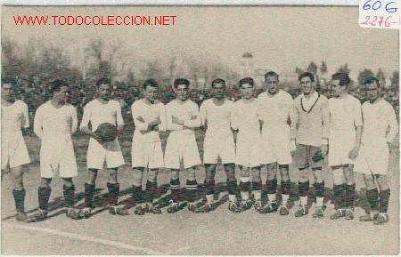 (2276-F) POSTAL SEVILLA CLUB FUTBOL AÑOS 20 (Coleccionismo Deportivo - Postales de Deportes - Fútbol)