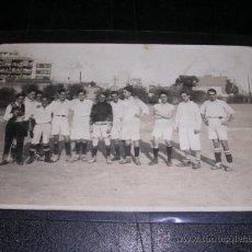 Coleccionismo deportivo: POSTAL FOTOGRAFICA DE UN EQUIPO DE FUTBOL. Lote 10472176