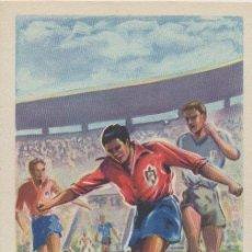 Coleccionismo deportivo: POSTAL DEL ATHLETIC DE BILBAO DEL JUGADOR GAINZA FUTBOL DEPORTES ASES DEL BALON. Lote 23574874