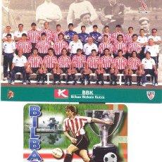 Coleccionismo deportivo: ATHLETIC CLUB BILBAO POSTAL OFICIAL PLANTILLA CENTENARIO 1997/98 FUTBOL VIZCAYA PAIS VASCO SAN MAMES. Lote 26628382