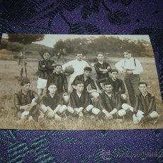 Coleccionismo deportivo: POSTAL FOTOGRAFICA EQUIPO DE FUTBOL. Lote 11803109