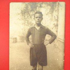 Coleccionismo deportivo: POSTAL JUGADOR DE FUTBOL-. Lote 25306948