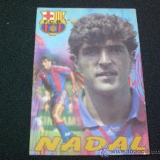 Coleccionismo deportivo: POSTAL DE NADAL BARCELONA BARÇA FUTBOL. Lote 17288241