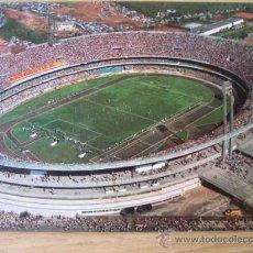 Coleccionismo deportivo: POSTAL DEL CAMPO DE FUTBOL: ESTADIO CICERO POMPEU DE TOLEDO ( MOROMBI ) BRASIL. Lote 22622049