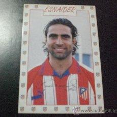 Coleccionismo deportivo: POSTAL ATLETICO DE MADRID FUTBOL ESNAIDER. Lote 16979800
