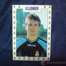 Coleccionismo deportivo: POSTAL REAL MADRID BODO ILLGNER PORTERO REAL MADRID AÑOS 90. Lote 12565856