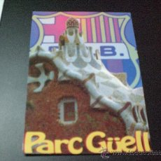 Coleccionismo deportivo: POSTAL PARC GUELL F. C BARCELONA BARÇA. Lote 17431689