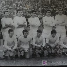 Coleccionismo deportivo: FOTO REAL MADRID. PAPEL FOTOGRAFICO. 18X24. Lote 27593797