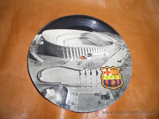 DISCO IGNAGURACION CAMP NOU 24 SEPTIEMBRE 1957 (Coleccionismo Deportivo - Postales de Deportes - Fútbol)