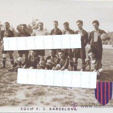Coleccionismo deportivo: F.C. BARCELONA - TEMPORADA 1922-23 INCREIBLE COLECCION 12 POSTALES FOTOGRAFICAS LES CORTS ¡UNA JOYA!. Lote 49970909