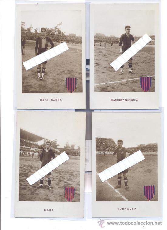 Coleccionismo deportivo: F.C. BARCELONA 1922 23 INCREIBLE COLECCION 12 POSTALES FOTOGRAFICAS LES CORTS FUTBOL BARCA UNA JOYA! - Foto 3 - 49970909
