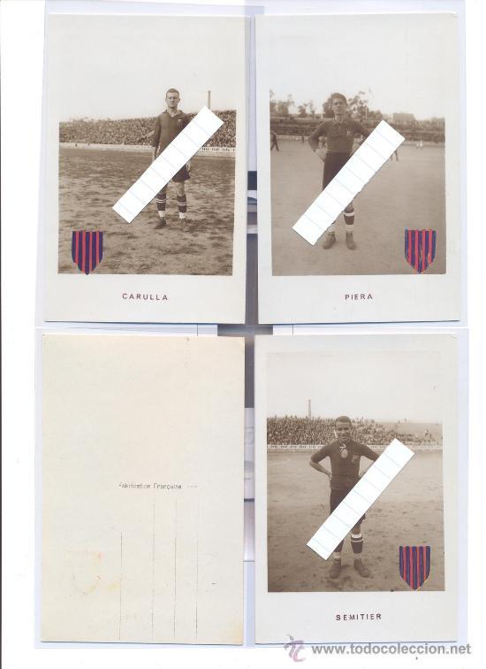 Coleccionismo deportivo: F.C. BARCELONA 1922 23 INCREIBLE COLECCION 12 POSTALES FOTOGRAFICAS LES CORTS FUTBOL BARCA UNA JOYA! - Foto 4 - 49970909