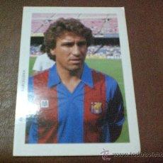 Coleccionismo deportivo: POSTAL F. C BARCELONA AÑOS 80 ESTEBAN BARÇA. Lote 34685729