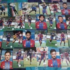 Coleccionismo deportivo: COLECCION COMPLETA DE 96 FOTO S DE JUGADORES F. C BARCELONA FINALES AÑOS 90 BARÇA . NO SON POSTAL. Lote 16831554