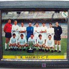 Coleccionismo deportivo: POSTAL ANTIGUA REAL MADRID. Lote 26448160