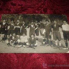 Coleccionismo deportivo: POSTAL FOTOGRAFICA EQUIPO DE FUTBOL. Lote 14186619