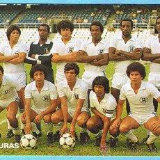 Coleccionismo deportivo: Nº 18 SELECCIÓN NACIONAL DE FÚTBOL DE HONDURAS. DON BALÓN, 1982.. Lote 17531150