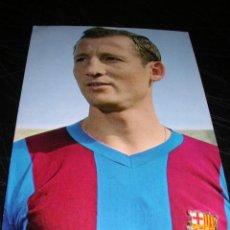 Coleccionismo deportivo: 9 GALLEGO ( CF BARCELONA ) FOTO SEGUI. Lote 16063617