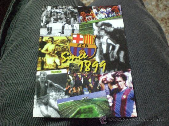 POSTAL DE F C BARCELONA BARÇA RARA ESCUDO HISTORICA SINCE1899 (Coleccionismo Deportivo - Postales de Deportes - Fútbol)