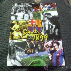 Coleccionismo deportivo: POSTAL DE F C BARCELONA BARÇA RARA ESCUDO HISTORICA SINCE1899. Lote 16085999