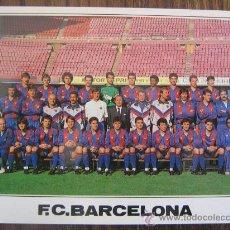Coleccionismo deportivo: BARÇA POSTAL PLANTILLA FC BARCELONA 1988-1989 MIREN FOTOS . Lote 29792561