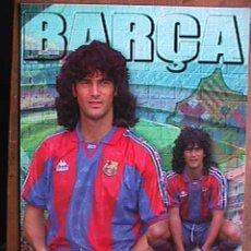 Coleccionismo deportivo: COUTO, FUTBOL CLUB BARCELONA, POSTAL GIGANTE DE 34X24 CMS. Lote 94116199