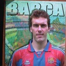 Coleccionismo deportivo: BLANC, FUTBOL CLUB BARCELONA, POSTAL GIGANTE DE 34X24 CMS. Lote 173190175