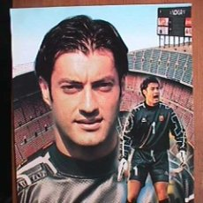 Coleccionismo deportivo: VITOR BAIA, FUTBOL CLUB BARCELONA, POSTAL GIGANTE DE 34X24 CMS. Lote 94116903
