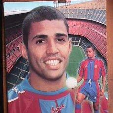 Coleccionismo deportivo: GIOVANNI, FUTBOL CLUB BARCELONA, POSTAL GIGANTE DE 34X24 CMS. Lote 94115088