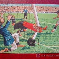 Coleccionismo deportivo: POSTAL HUMOR FUTBOL - AÑOS 1930-40. Lote 20100692