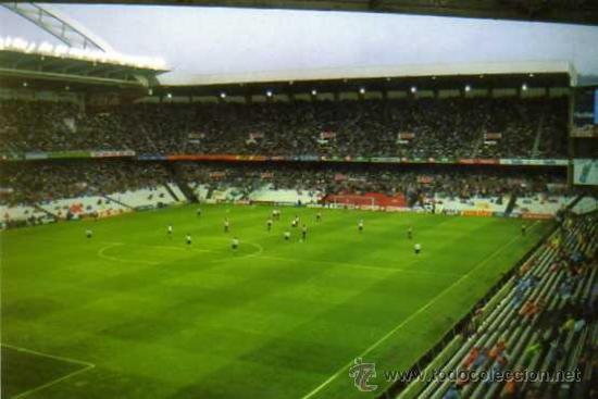 ESTADIO ATH BILBAO - ESTADIO DE SAN MAMES (Coleccionismo Deportivo - Postales de Deportes - Fútbol)