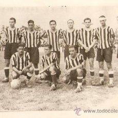 Collezionismo sportivo: F.C.CARTAGENA FOTO TEMPORADA 1933-34 HECHA EL DIA DEL PARTIDO CONTRA EL IMPERIAL. Lote 20693332
