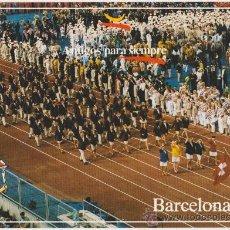 Coleccionismo deportivo: COLECCION OLIMPICA BARCELONA 92 CEREMONIA DE INAGURACION,EDITA FOTOS JULIAN FOTO JOSE COROMINAS. Lote 20918639