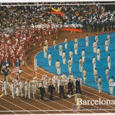Coleccionismo deportivo: COLECCION OLIMPICA BARCELONA 92 CEREMONIA DE INAGURACION,EDITA FOTOS JULIAN FOTO JOSE COROMINAS. Lote 20918735