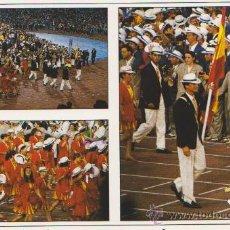 Coleccionismo deportivo: COLECCION OLIMPICA BARCELONA 92 CEREMONIA DE INAGURACION,EDITA FOTOS JULIAN FOTO JORDI LOPEZ. Lote 20918802