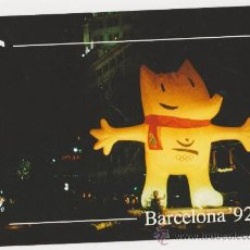 Coleccionismo deportivo: COLECCION OLIMPICA BARCELONA 92 MASCOTA COBI TE ESPERAMOS EN BARCELONA,EDITA FOTOS JULIAN . Lote 20918956