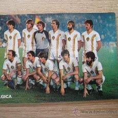 Coleccionismo deportivo: POSTAL SELECCIÓN BELGICA - MUNDIAL 82 - REVISTA DON BALÓN Nº 10 - FUTBOL BELGIUM. Lote 20920437