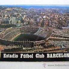 Coleccionismo deportivo: POSTAL ESTADIO FUTBOL CLUB BARCELONA -Nº265 ESCUDO DE ORO- CIRCULADA AÑOS 70 APROX. Lote 21957631