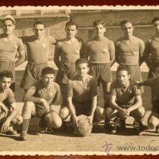 Coleccionismo deportivo: ANTIGUA FOTOGRAFIA DEL EQUIPO DE FUTBOL U.D. SAN MIGUEL - FOTO V. IZQUIERDO - AÑO 1948 - NO CIRCULAD. Lote 22185025