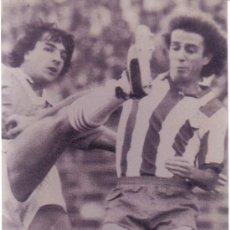 Coleccionismo deportivo: FOTO DE DIRCEU CON EL AT.MADRID - GOLY. Lote 27428024
