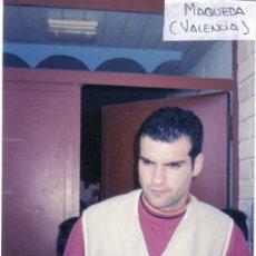 Coleccionismo deportivo: FOTO DE MAQUEDA CON EL VALENCIA - GOLY. Lote 22830072