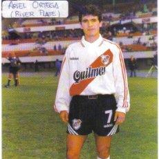 Coleccionismo deportivo: FOTO DE ARIEL BURRITO ORTEGA CON EL RIVER PLATE - GOLY. Lote 23164641