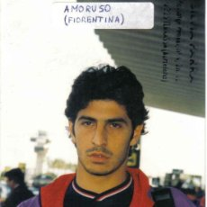 Coleccionismo deportivo: FOTO DE AMORUSO DE LA FIORENTINA - GOLY. Lote 23164652